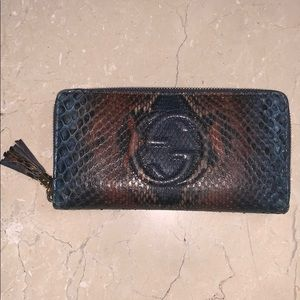 Gucci Python Soho Wallet